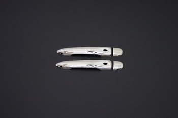 For Renault Megane 3 Accessories 2010-2016 Megane 3 Accessories Chrome Door Handle Chrome Stainless Steel 2 Doors (sensor)