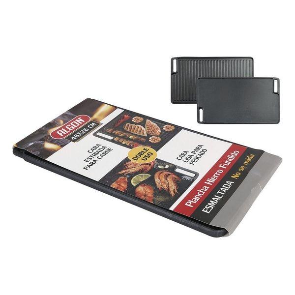 Grill Hotplate 2 In 1 Algon (46 X 26 Cm)