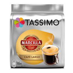 Café Largo MARCILLA, 16 servicios TASSIMO