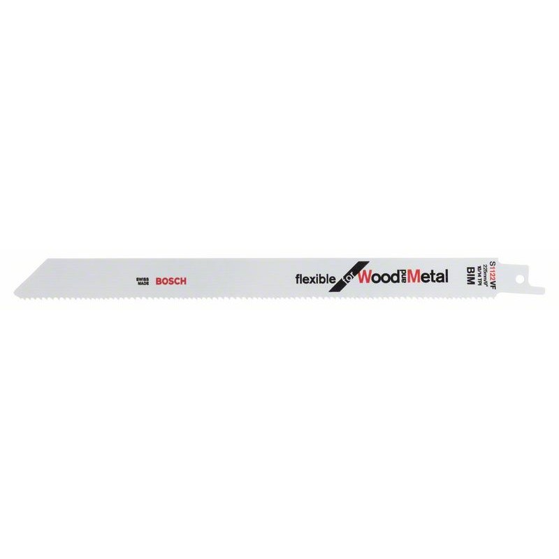 BOSCH-saw Blade Sable S 1122 VF Bendable For Wood & Metal