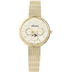 Reloj para mujer a3732.111qf en una pulsera de acero con revestimiento de PVD, cristal mineral, luz solar