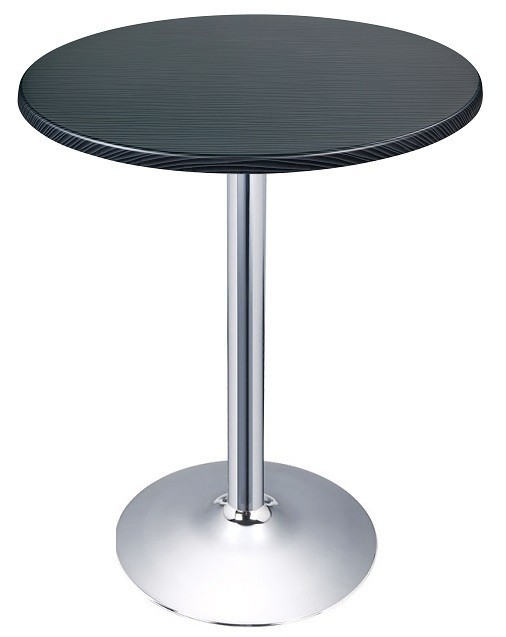 Table CRISS, Chrome Topalit-Sea Dark-70 Cms *