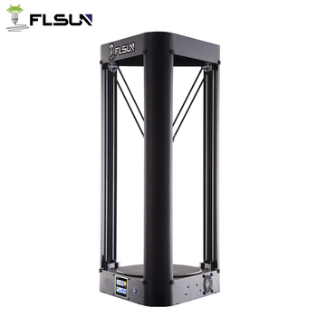 2019 Flsun Kossel Delta 3D Printer Heated bed Pre-assembly 32 bits motherboard Touch Titan extrtuder 3d printer QQ-S 1