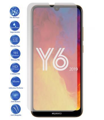 Protector De Pantalla Cristal Templado Vidrio 9H Premium Para Huawei Y6 2019