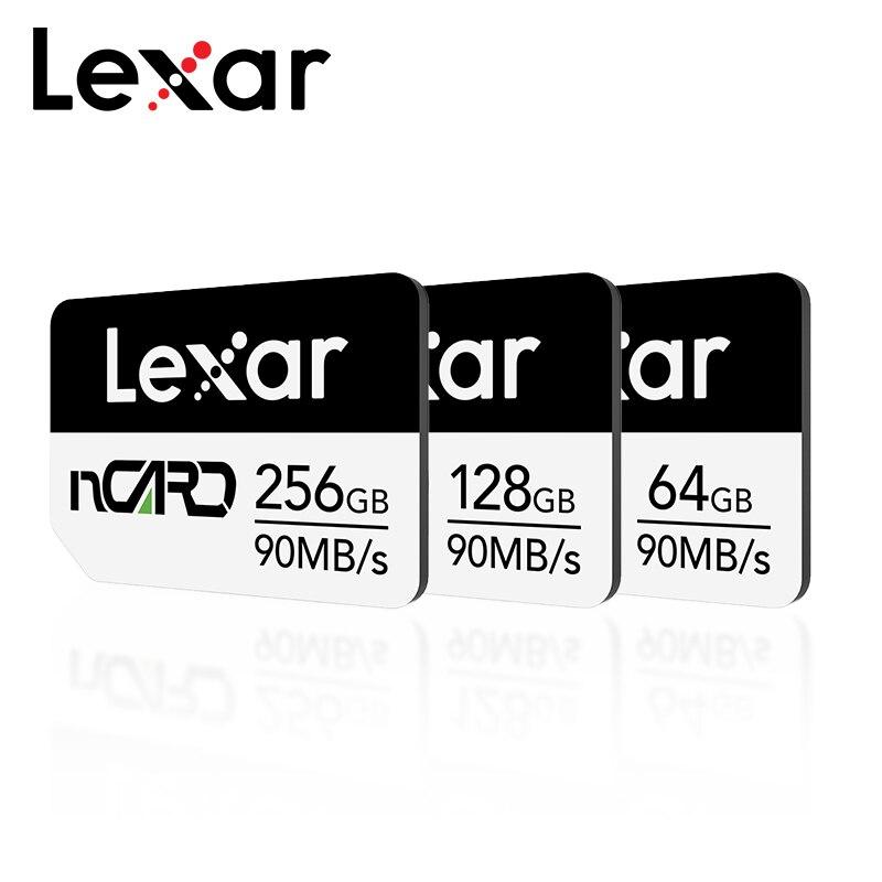 Cartão de memória original 64gb 128gb nano 256gb cartão de memória flash de alta velocidade do cartão de memória do telefone max 90 mb