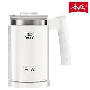 Melitta Cremio II, electric milk frother for coffee machine, foremost type milk, latte art, 3 heads, 250ml, 450W