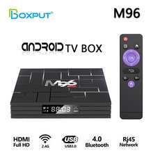 Ott ТВ коробка m96 android 90 rk3318 5g hd Смарт медиаплеер