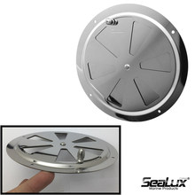 Sealux Butterfly vent with side knob 3 sizes Stainless steel for Yacht Boat Marine hardware