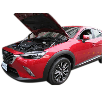 Para MAZDA CX3 CX-3 2015-2019 Frente Capa Bonnet Modificar Gás Struts Amortecedor De Choque Elevador Suporta Carro-Styling absorvedor