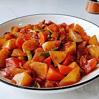 蒜辣萝卜豆瓣鸡的做法图解9