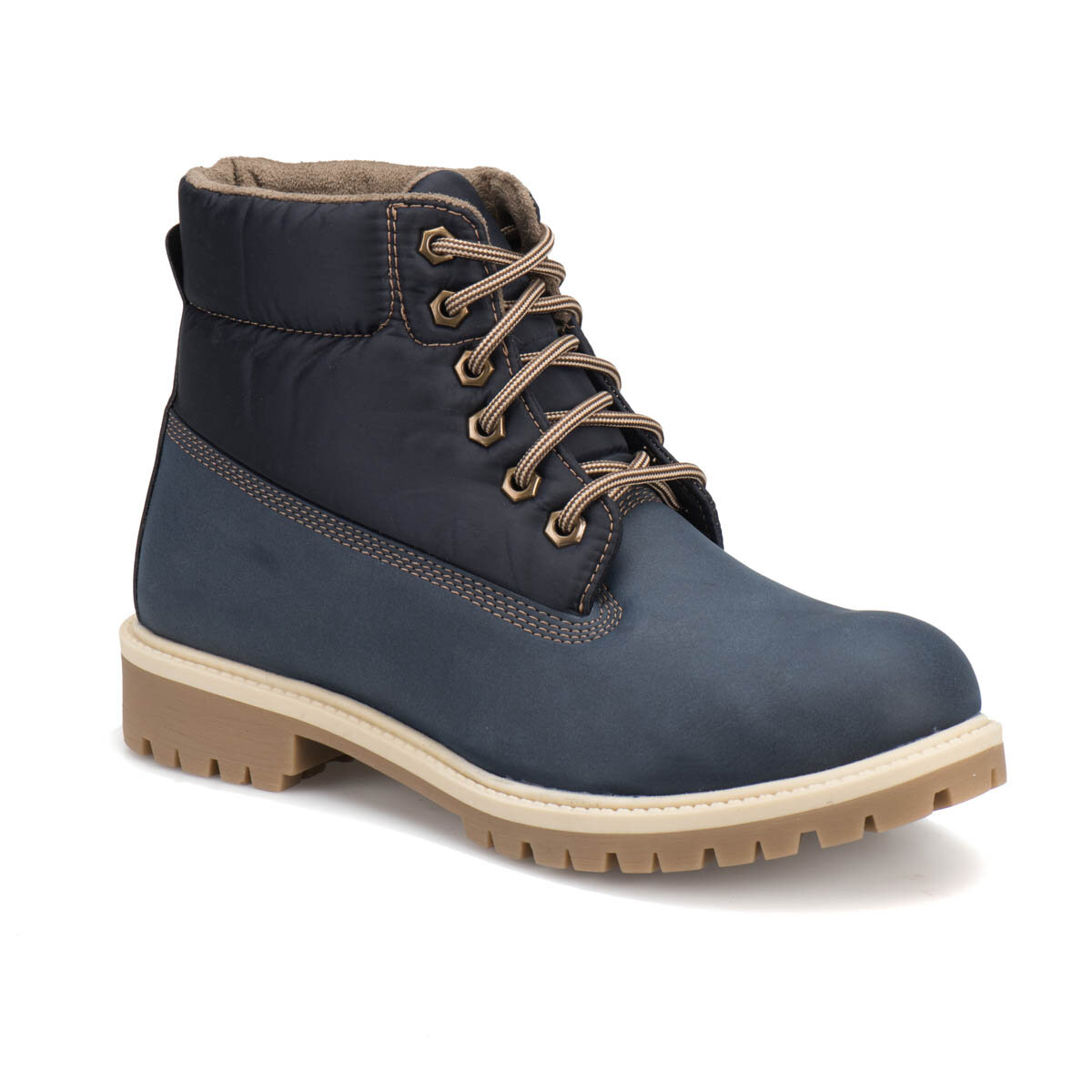FLO DST-2 Navy Blue Men 'S Boots Panama Club