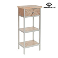 Small Side Table Mdf (46 x 33 x 98 cm) by Craftenwood