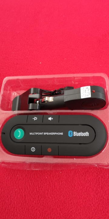 Bluetooth Hands-Free Car Visor Kit photo review