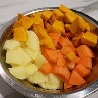 土豆腊肠焖饭的做法图解3