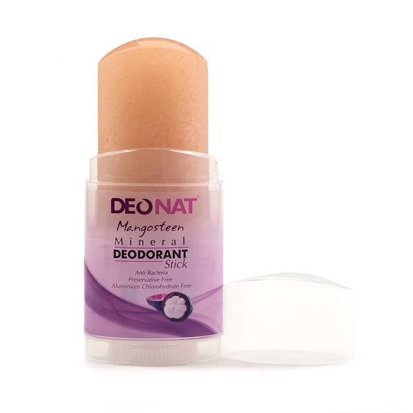Deonat Deodorant Crystal With Mangosteen Juice, Screw-out Stick (twist-up),