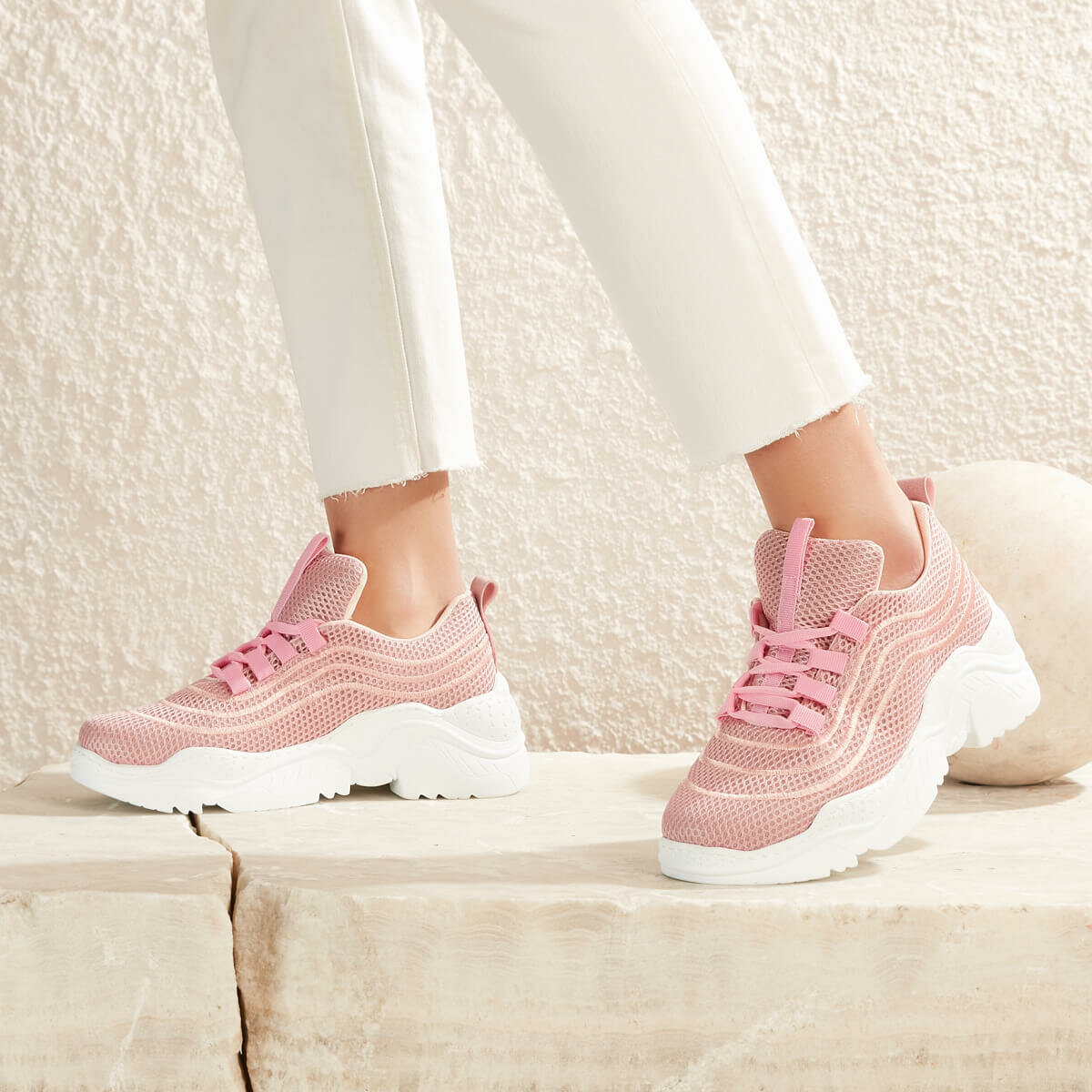 FLO POLLY40Z Pink Women 'S Sneaker Shoes BUTIGO