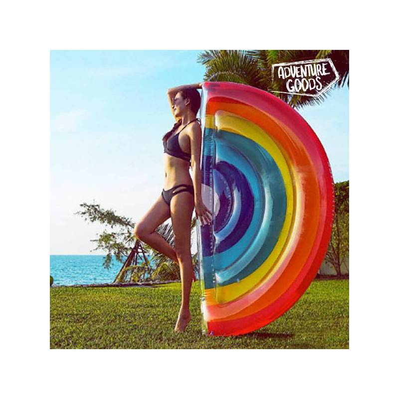Inflatable Mattress Rainbow Adventure Goods