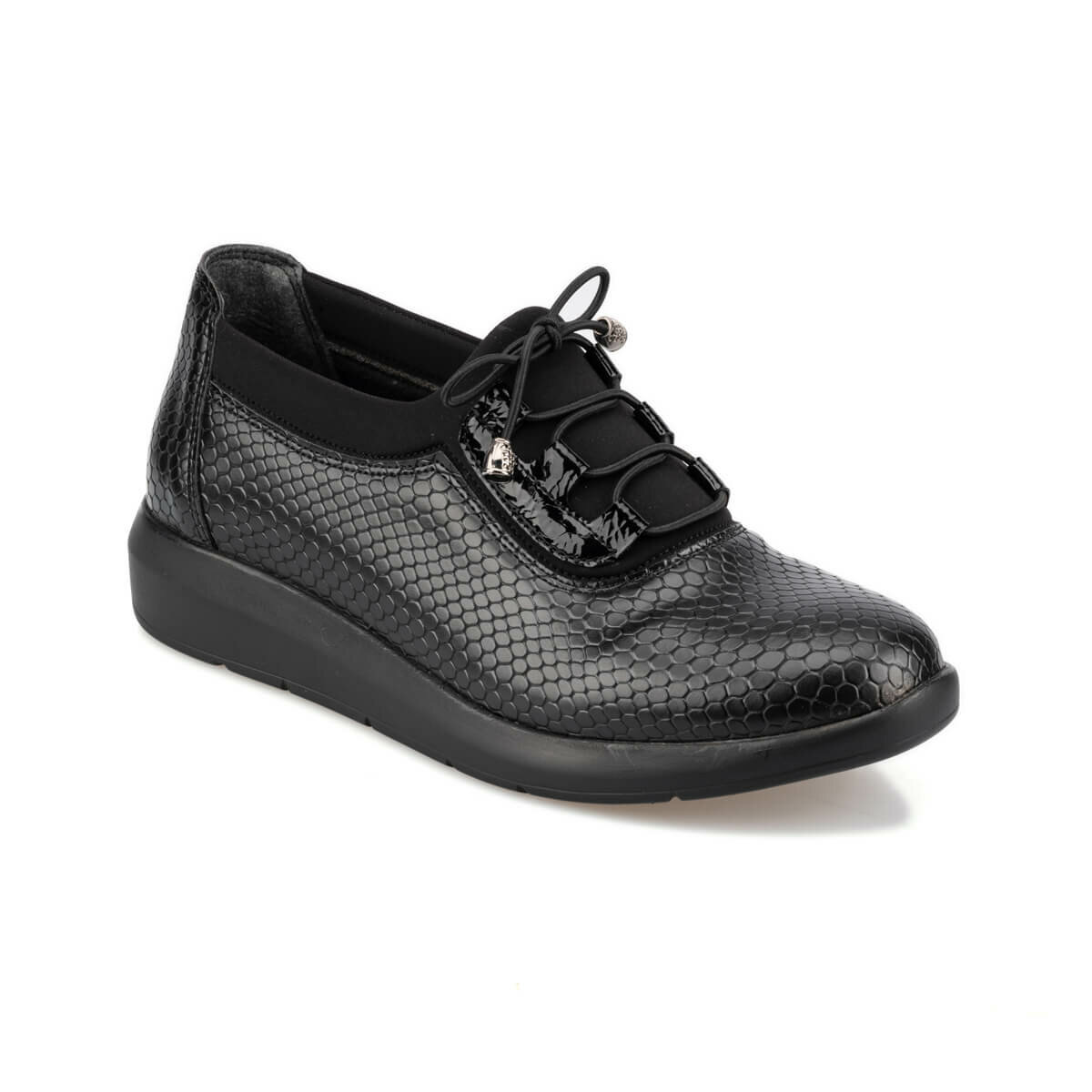 FLO 92.151054.Z Black Women 'S Sneaker Shoes Polaris