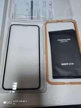 Excellent screen protector, as always. Came in retail box with frame for easy installation