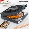 InnovaGoods коробка для пиццы Presto! С книгой рецептов 1200W черный