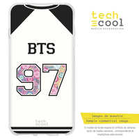 FunnyTech®Silicone Case for Motorola Moto C Plus L T-shirt Group Music BTS 97