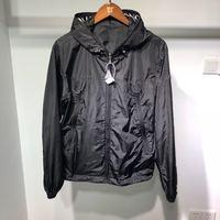 Jacket high quality jacket men luxury wear black vest hoodies casual black color brand print