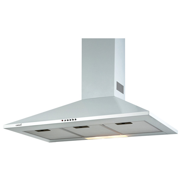 Conventional Hood Cata OMEGA 700 WH 70 Cm 645 M3/h 72 DB 270W Stainless Steel