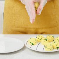 玉米面菜饼的做法图解6