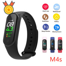Accalia M4S Smart band Bracelet Message Display Heart rate Blood pressure Monitor Waterproof Wristband