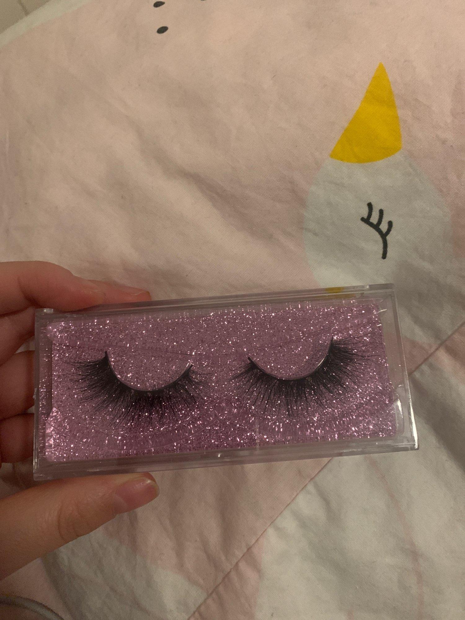 5D Mink Eyelashes Set photo review