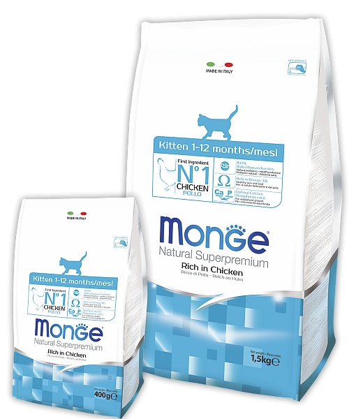Monge Cat Kitten Cat Food 10 Kg