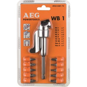 Royal WB1 Screwing Corner Adapter + 10 Piece End Set