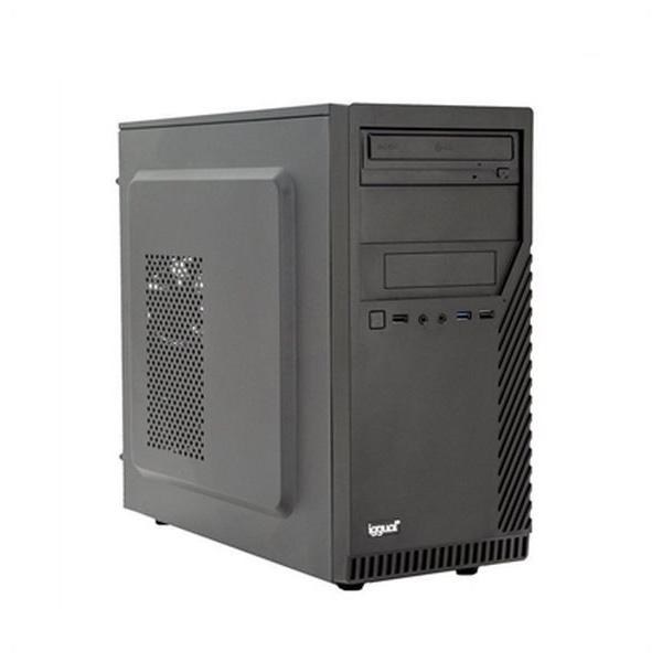Desktop PC Iggual PSIPCH402 I3-8100 8 GB RAM 120 GB SSD Black