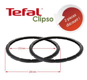 Uszczelka pary uszczelniającej szybkowar wymiana pierścienia uszczelniającego dla SEB Tefal Clipso 2 sztuki 4-5-6 litrów tanie i dobre opinie NO (pochodzenie) Części do parowaru