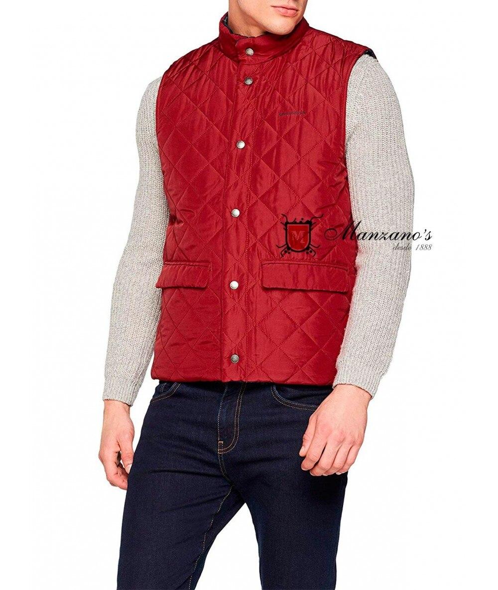 VEST SPAGNOLO REVERSIBLE Vests With Pockets Female Jackets Winter Coat For Men
