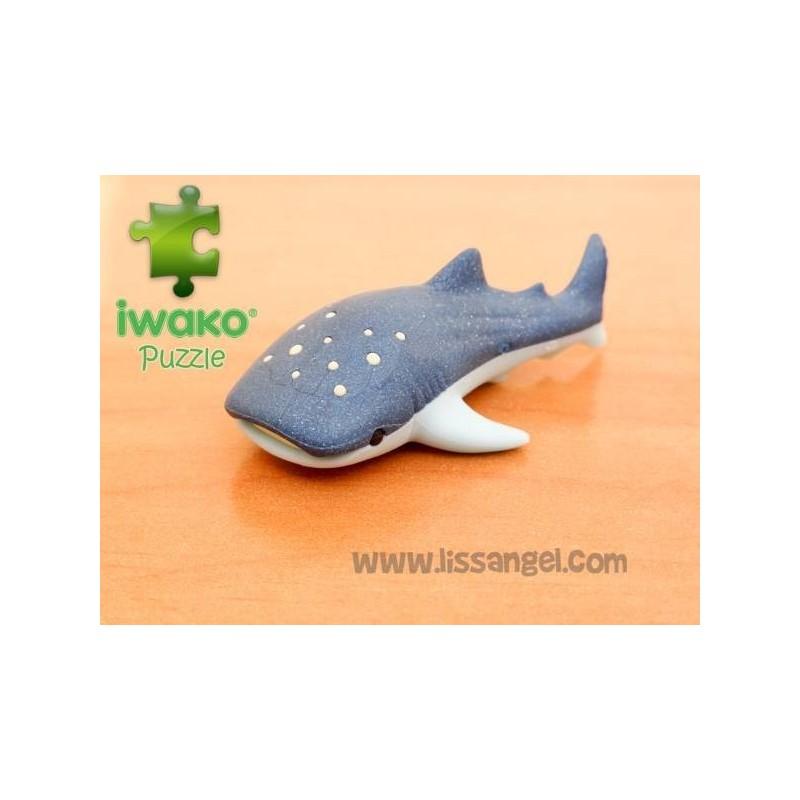 Puzzle IWAKO Eraser - Whale Shark
