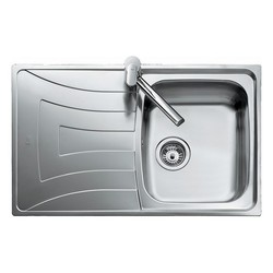 Sink with One Basin Teka 10120087 UNIVERSO 79 1C 1E Reversible Stainless steel