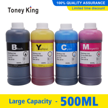 Dye Ink Epson Bottle-Ink Ink-Cartridge 500ml for T1281/T0731/T0921/.. Toney King
