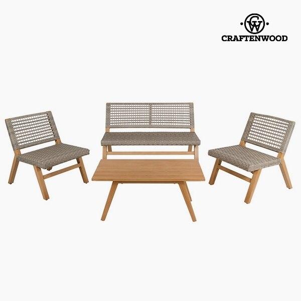 Garden Furniture (4 Pcs) Resin