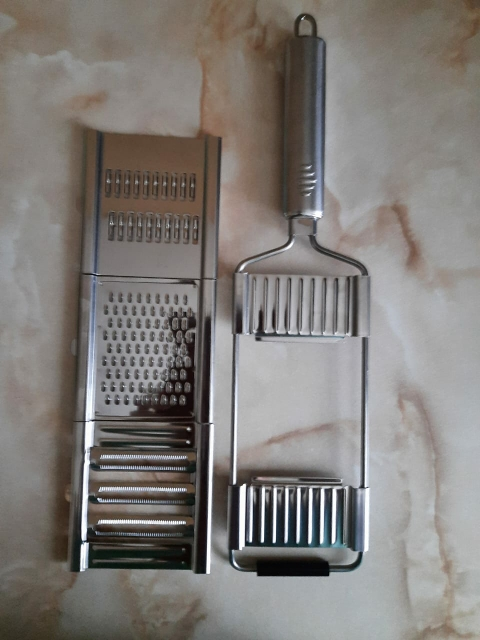 Multifunctional Stainless Steel Kitchen Slicer photo review