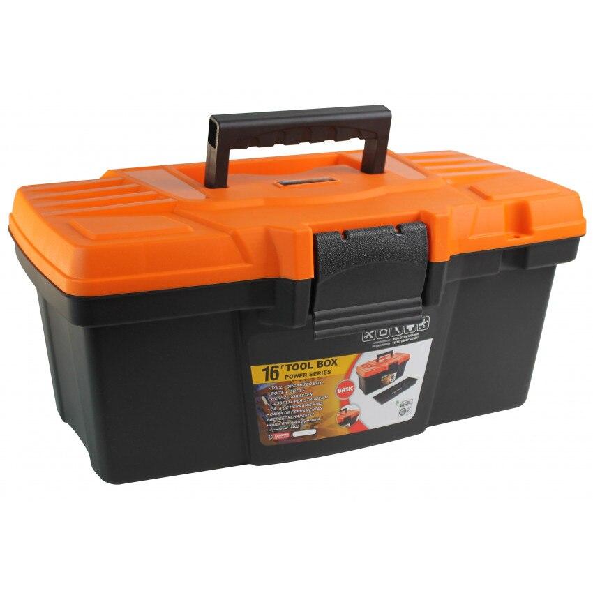 "Tool Box With Empty Tray 16 ""18x40x21,5cm GH91"