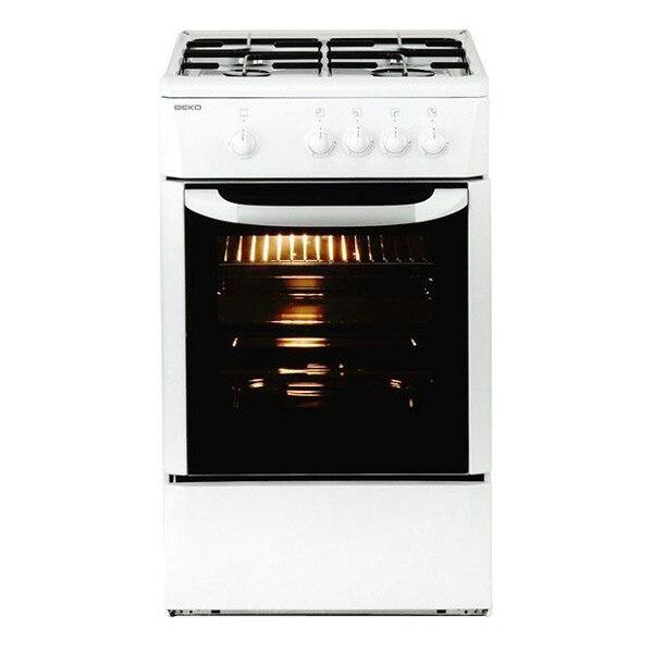Gas Hob BEKO 165510 CSG 42009 DW 9500W 50 Cm White