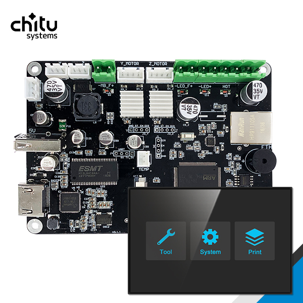 Controller Board ChiTu L HDMI  Motherboard For 4k LCD Resin 3d Printer
