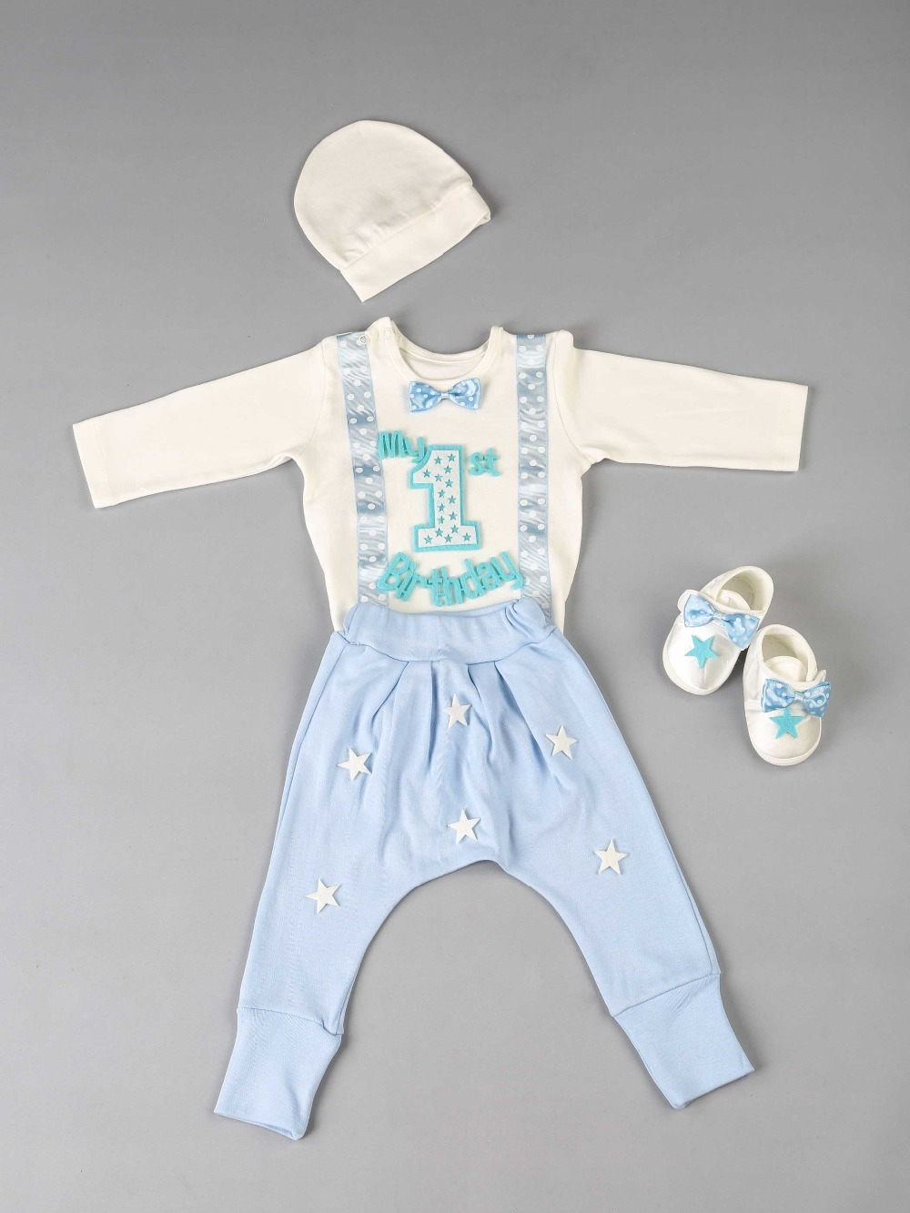 083-1111-015 1 Mavi Yaş Erkek Bebek 4 lü Takım (2)