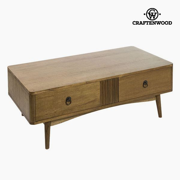 Centre Table Teak Mdf Brown - Be Yourself Collection By Craftenwood