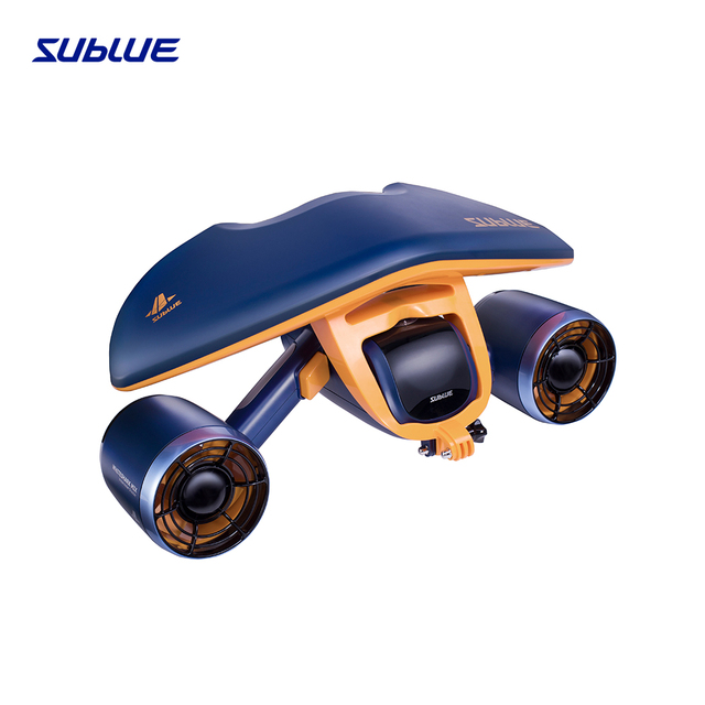 Sublue Whiteshark Mix the No.1 dual-motor underwater scooter snorkeling and diving in water park and swimming pool Space Blue