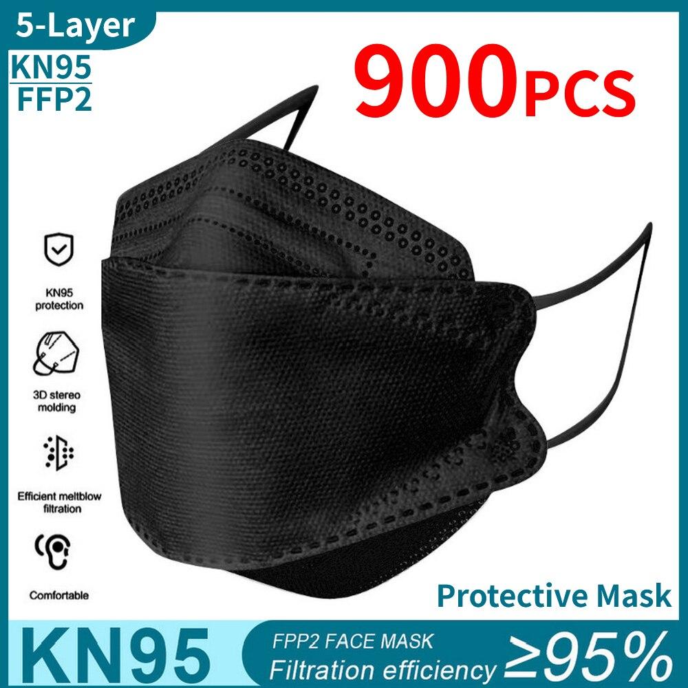kn95 mask 900pcs