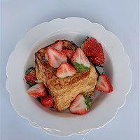 草莓法式吐司的做法图解9