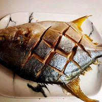 清蒸金鲳鱼的做法图解5
