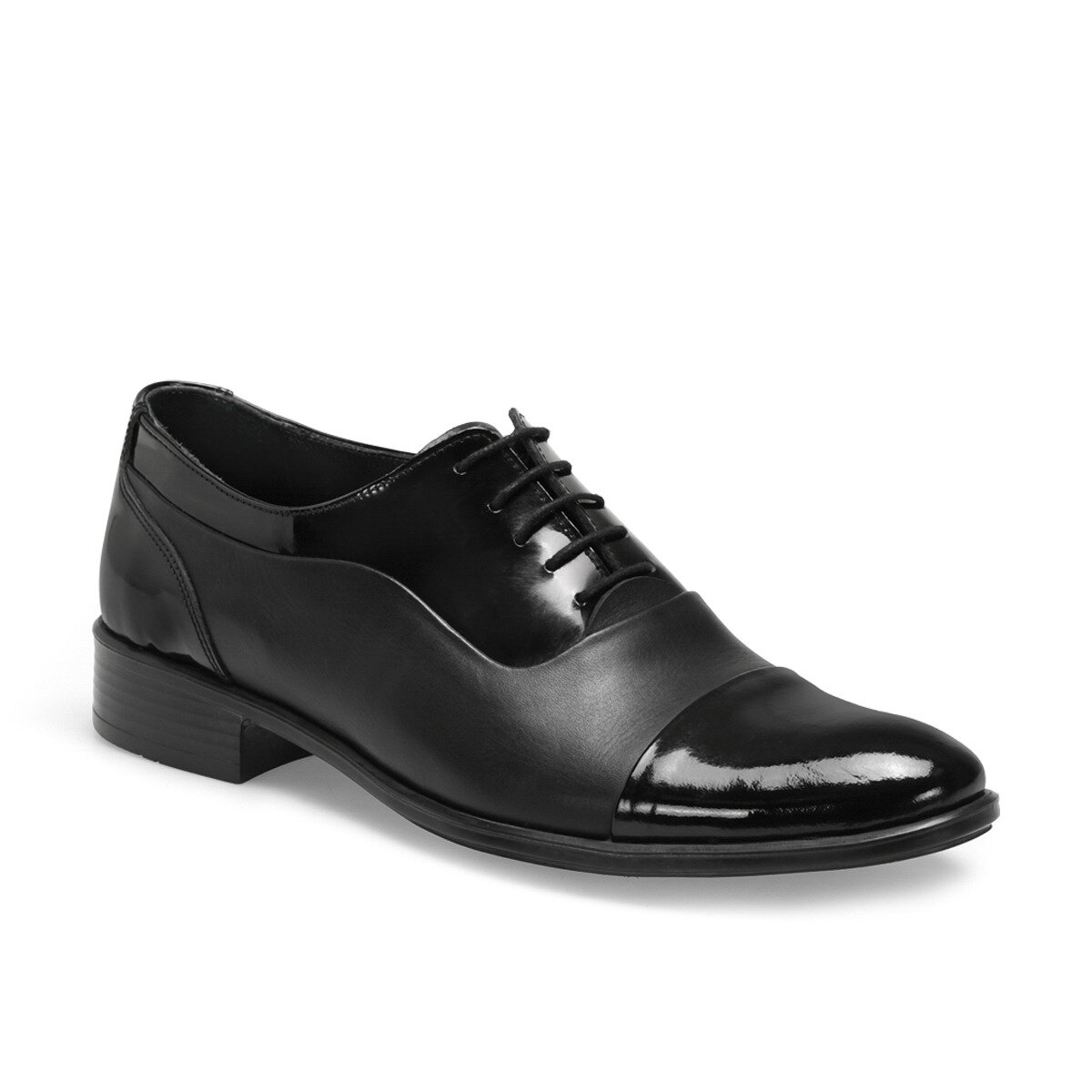 FLO 409 Black Male Maskaret Shoes Garamond